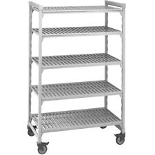 "Cambro Camshelving 18""W x 48""L x 75""H Premium Mobile Starter Unit"