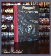 Frankenstein By Mary Shelley Illustrated Brand New Collectible Gift Hardcover