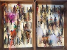 Hardy Vintage Fly Box Stuffed With Stunning Flies
