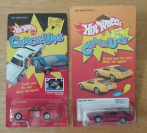 Hot Wheels Crack-Ups - Fire Smasher, Smash Hit - Blisterpacked