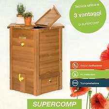 SUPERCOMP - Composter - Compostiera –Compostaggio senza rivoltamento  in legno 6