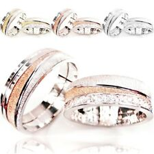 2 Trauringe Silber 925 inkl. Gravur + Etui Eheringe Verlobungsringe Partnerringe