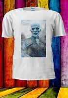 Game Of Thrones Night King White Walker Men Women Unisex T-shirt 2871