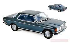 Norev 183589. Coche colección. Mercedes 280 CE 1980 azul metálico. Escala 1/18