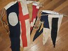 VTG Cloth Maritime Nautical Flags Flag Lot Signal Annin Defiance Triangle Number