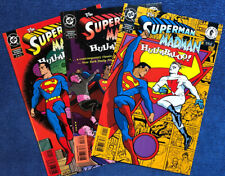 THE SUPERMAN MADMAN HULLABALOO! #1-3 (1997) FULL COMPLETE SERIES by MIKE ALLRED!