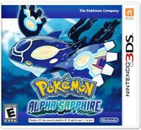 Pokemon: Alpha Sapphire (Nintendo 3DS, 2014) Brand New US Version