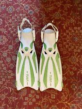 Tusa Solla Scuba Diving Open Heel Fins Size S