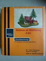 Sammlermodell:  Vintage Bausatz Halb-Fertigmodell Mini-Diorama NOCH B 854