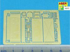 ABER 35 A118 - 1/35 PHOTOETCHED FOTOINCISIONI TOOL BOX BRUMMBAR ELEFANT