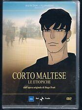CORTO MALTESE LE ETIOPICHE  DVD RAI TRADE F.C. SIGILLATO!!!