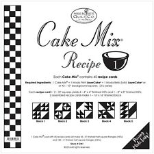 Cake Mix Recipe #1 foundation paper by Miss Rosie's Quilt Co for Moda