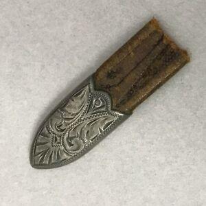 Vintage BOHLIN Sterling Silver Tip for Western Belt Bohlinmade