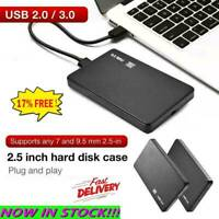 2.5 Inch HDD SSD Case Sata to USB 3.0/2.0 Hard Drive Enclosure 5Gbp Box 2020