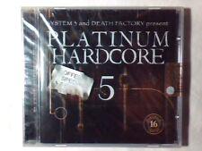 CD Platinum hardcore 5 GABBER SYSTEM 3 HOMER MAX E-CREW CORE PUSHER DEEVOID DJ D