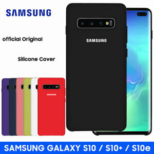 GENUINE Samsung Soft Touch Shockproof Silicone Case Cover for Galaxy S10e