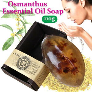 Osmanthus Essential Oil Handmade Soap Wash Soap Whitening Freckle Remove 110G