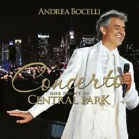 Concerto: One Night En Central Park: Andrea Bocelli Neuf Album CD (4730817)