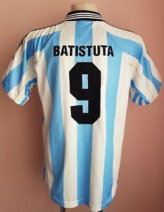 Argentina 1998 - 1999 Home football Adidas shirt #9 Batistuta