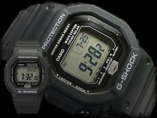 Casio GW5600J Men's Wave Ceptor G-Shock Atomic Tough Solar Black Resin Watch