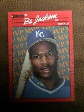 1990 DONRUSS BONUS MVP BO JACKSON #BC1 KANSAS CITY ROYALS