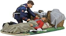BRITAINS ANGLO ZULU WAR 20121 BRITISH 24TH FOOT LYING WOUNDED WITH AHC MIB