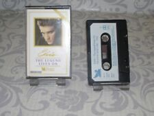 ELVIS PRESLEY  CASSETTE THE LEGEND LIVES ON VOL 3