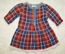 NEXT Checked Dresses (0-24 Months) for Girls