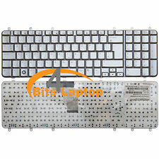Genuine HP Pavilion DV7-1001EA DV7-1000ea Laptop keyboard UK Silver