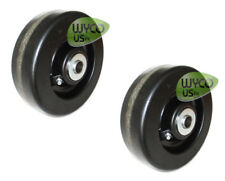 """TWO 6"""" DECK WHEELS, NEW HOLLAND 914A SERIES, 60"""" SIDE DISCHARGE MID-MOUNT MOWER"""