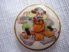 Vintage Medium 1 Inch Satsuma Button - Immortal God - B30