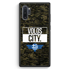 Volos City Camouflage Griechenland Samsung Galaxy Note 10+ Plus Silikon Hülle...