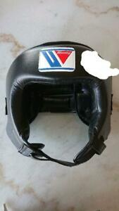 Winning Headgear L Size Black Color for Boxing Martial Arts MMA Protective Gear