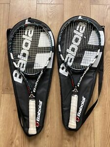 2 X BABOLAT Pure Drive GT technology 645cm2 Head + Covers