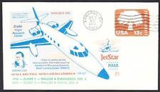 JETSTAR SPACE SHUTTLE MSBLS LANDING SYSTEM TEST FLIGHT 12-3-1976 Space Cover