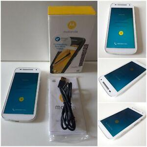 Motorola Moto E 2nd Gen - Smartphone - White - Tesco Mobile. BOXED in VGC