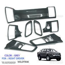 Gray Wildtrak Interior Dash Panel Cover For Ford Ranger 4 Doors T6 Mk2 2015 - 17