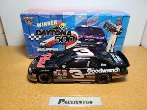 1998 Dale Earnhardt Sr #3 GM Goodwrench Daytona 500 BWC 1:24 NASCAR Action MIB