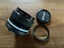 EXC!!! NIKON AI NIKKOR 24MM F/2 MF Lens