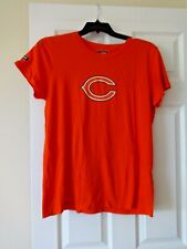 Chicago Bears womens orange Under Armour Combine Authentic T shirt size Large