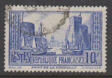 France - 1931, 10f La Rochelle Port (Type II) - Used - SG 474a