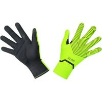 Gore Wear C3 Gore-Tex Infinium Stretch Mid Gloves - Neon Yellow/Black