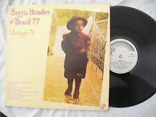 SERGIO MENDES BRASIL 77 LP VINTAGE 74 uk bell 240 stereo..... 33rpm / rock