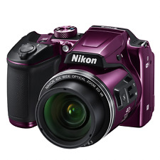 Nikon COOLPIX B500 16.0MP Digital Camera - purple  (Latest Model)