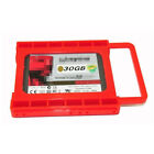 """2.5"""" to 3.5"""" SSD HDD Adapter Mounting Tray Bracket Hard Drive Bay Caddy Desktop"""