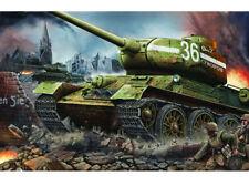 1/16 Soviet  T-34 /85 F183 Tank Trumpeter WWII Russian Soviet Armored Kit  00902