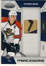 10-11 CERTIFIED STEPHEN WEISS PATCH PRIME /25