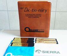 2 Apple: dic-Quantiiativi-Nary-Dictionary Sierra On-line 1982