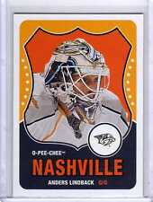 ANDERS LINDBACK 10/11 OPC ROOKIE RC Retro SP #543 O-Pee-Chee