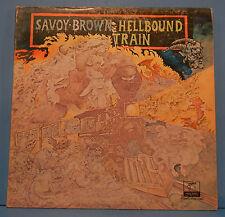 SAVOY BROWN HELLBOUND TRAIN VINYL LP 1972 ORIGINAL PRESS PLAYS GREAT VG++/VG!!A